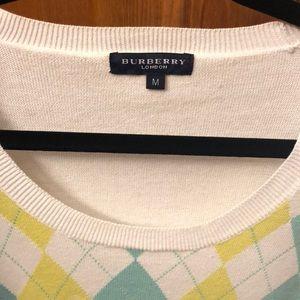 Burberry Sweaters - Authentic Burberry argyle sweater - EUC - medium